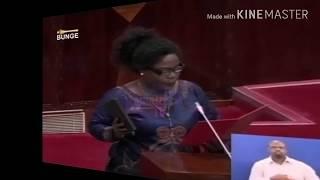 BUNGENI:Hivi ndivo Janeth Masaburi alivo apa kuwa mbunge