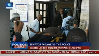 Dino Melaye Lands In Hospital As Drama With Police Turns Violent