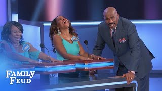 OMG! It's here! Oh mother... the ON-AIR VERSION!!! | Family Feud