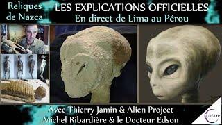« Reliques du Pérou : Les Explications Officielles » avec T. Jamin, le Dc Edson et M. Ribardière