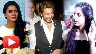 Kajol ACCUSES Media Of Harassing Suhana Khan At Tubelight Screening | ANGRY REACTION