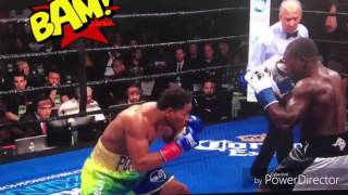 berto vs porter - tko highlights