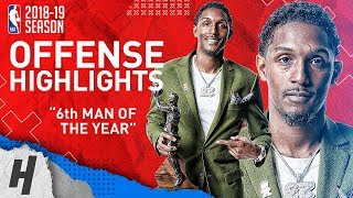 Lou Williams BEST Offense Highlights from 2018-19 NBA Season! 6th Man of the Year