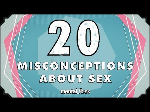Xxx Mp4 20 Misconceptions About Sex Mental Floss On YouTube Ep 212 3gp Sex