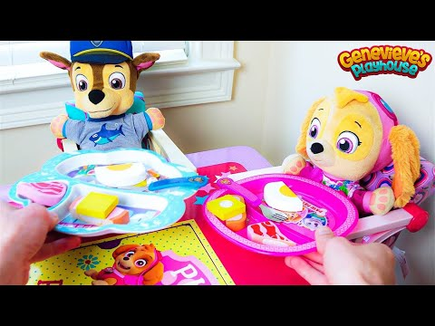 Paw Patrol s Skye and Chase s fun day at the Playground & No Bullying at School Baby Pups Videos