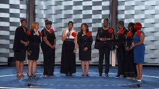 9 Mothers of Children Killed In Police Shooting Hold Back Tears During DNC