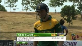 Sri Lanka v South Africa - 3rd ODI at MRICS (HD)