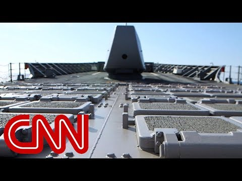 watch Exclusive: Life aboard a U.S. Navy missile cruiser