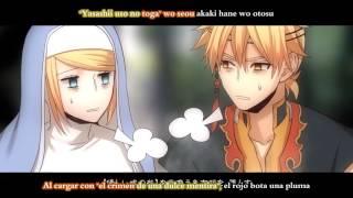 [Kagamine Twins] Mistletoe ~Tensei no Yadorigi~ (sub español + romaji)