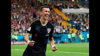 Perisic scores against croatia ! | semi final | world cup 2018 russia | 1-1