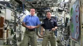Hawking/ISS Crew Q&A
