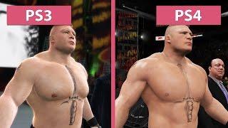 WWE 2K17 – PS3 vs. PS4 Graphics Comparison