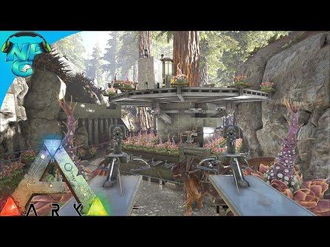 Raiding The Tree Platform Base In The Redwoods! ARK Survival Evolved   PvP  Season E32 | Daikhlo