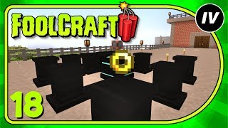 Foolcraft 3 - Ep 18 - Angel ring, Armor & Enchanted Power