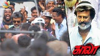 Rajinikanth's Kaala Intro Song Shooting at Dharavi, Mumbai |  Hot Tamil Cinema News