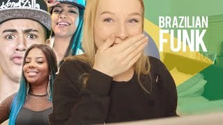REACTION TO BRAZILIAN MUSIC: FUNK ♡