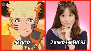 Characters and Voice Actors - Naruto Shippuden: Ultimate Ninja Storm 4