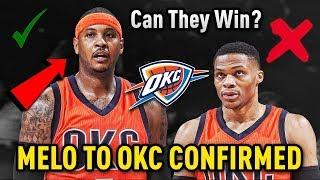CARMELO ANTHONY TRADED TO THE OKLAHOMA CITY THUNDER!! Can The New Big 3 Win The NBA Championship?