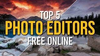 Top 5 Best FREE Online Photo Editors (2019)