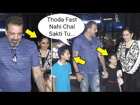 Xxx Mp4 Sanjay Dutt Gets Angry On Manyata In Front Of His Kids 3gp Sex
