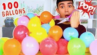 SLIME XXL AVEC 100 BALLONS ?!! JustJonathan