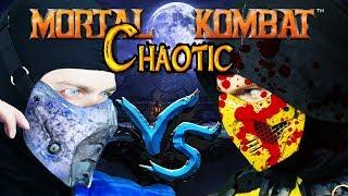 Scorpion & Sub-Zero Play - Mortal Kombat (MUGEN) Chaotic | MKX GAMEPLAY PARODY!