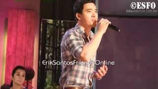 Erik Santos Live June 11, 2012 - Go The Distance