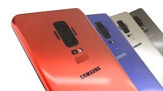 Samsung Galaxy S9 Concept