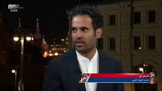 عبدالله الحنيان - الفيفا كرم سامي الجابر كأسطورة لأنه سجل 3 أهداف في مونديالات سابقة #المونديال