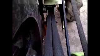 дополнение как переделал натяжку ремней на мини тракторе - Vimeou