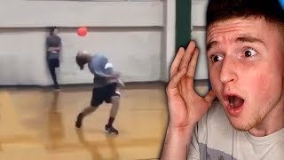 This kid has the fastest reflexes in the world..