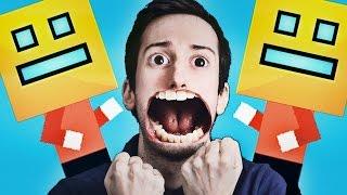 PEGGIO DI GEOMETRY DASH!! (Compilation di giochi) - Mr Jump, Bus Simulator, Illusioni Ottiche