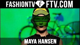 Maya Hansen Spring 2016 at Mercedes-Benz Fashion Week Madrid | MBFW Madrid | FTV.com