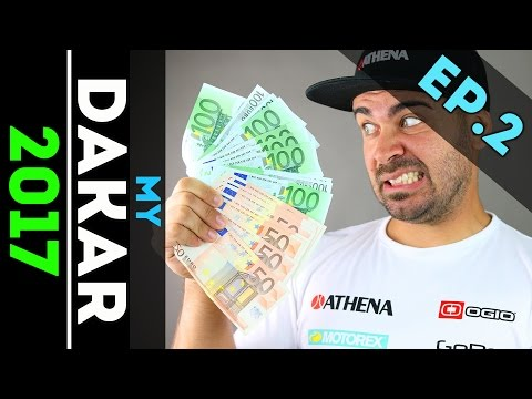 My Dakar 2017 HOW MUCH DOES IT COST GoPro Webseries