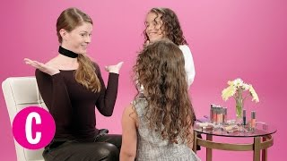 Little Girls Give a Woman Makeup Advice | Cosmopolitan + Clinique
