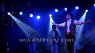 Nima Rumba sings Nepali song 'Aau Aauna'