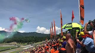 Frecce Tricolori al Mugello 2018 - MotoGP - 3 giugno 2018 - Video in 4K