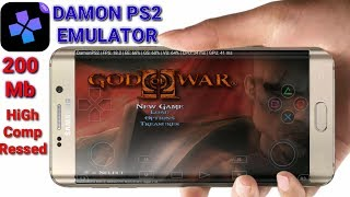 200Mb High Compressed    GOD OF WAR 2 ON ANDROID    Gameplay With Damon Ps2 Emulator