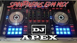 DJ Apex's Spontaneous EDM Mix | Electro & Progressive House | Pioneer DDJ-SX
