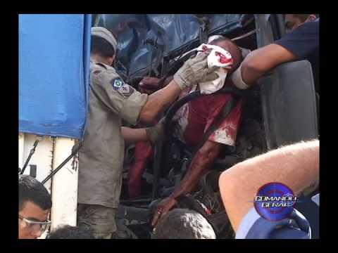 Repórter Lucky Marlon mostra forte acidente 364