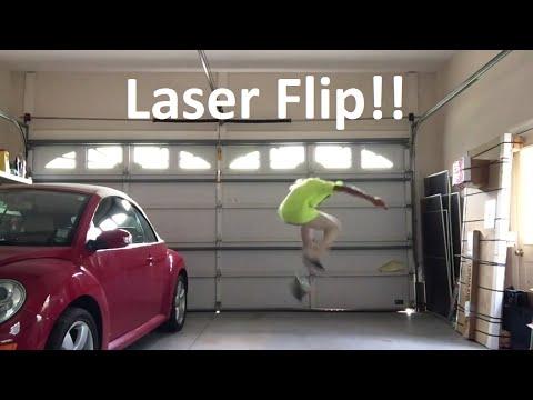 watch TODAY I LEARNED: LASER FLIP!!