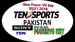 Sony Network New Power VU key 31.01.2018. Sony Network channel some receiver play.