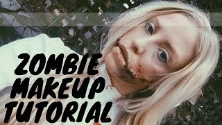 Special FX Zombie Makeup Tutorial   Shannon Leigh