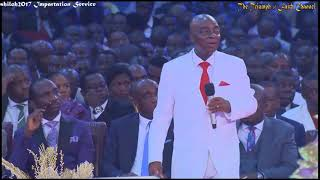 Bishop Oyedepo Ministration@ Shiloh Impartation Service, December 09, 2017