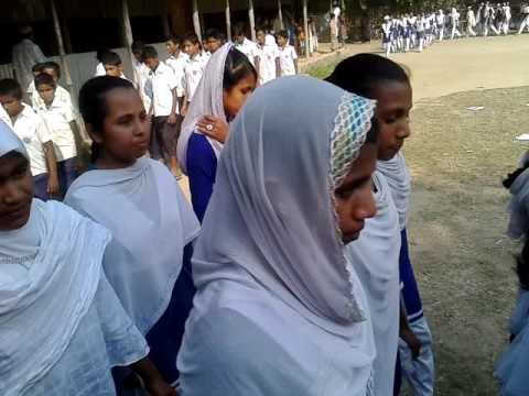 Bangladeshi school girls Narsingdi
