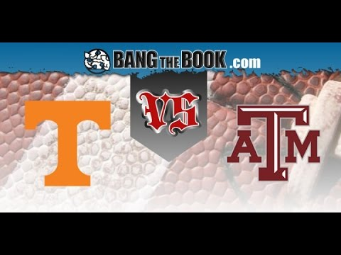 No. 9 Tennessee at No. 8 Texas A&M No Huddle 10/08/16