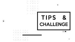 RESULTADO DO TIPS&CHALLENGE - Era uma vez... um editor