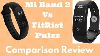 Hindi | Comparison Review Xiaomi Mi Band 2 VS Intex Fitrist Pulzz | Sharmaji Technical