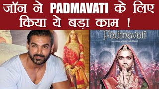 Padmavati makes John Abraham to take big step for Parmanu release; Know Here | FilmiBeat