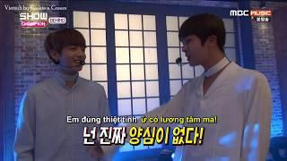 [KnC][VIETSUB] JinKook CUT @ 170314 Show Champion Backstage